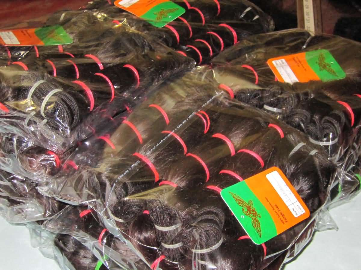 Raw wholesale Indian hair